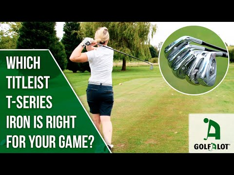 Find out which Titleist T-Series iron YOU should play! | Golfalot T100S & T400 Equipment Review