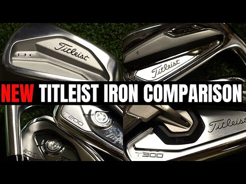 NEW TITLEIST IRONS – 620 MB – T100 – T200 – T300 FULL COMPARISON!