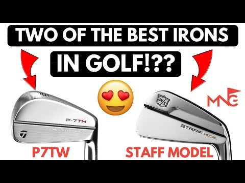 Which Is King Of The Blades? TaylorMade P7TW Iron VS Wilson Staff Model Iron
