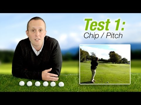 Golf Ball Test: Titleist Pro V1 2013 vs Taylormade Penta TP5 vs Callaway HEX Black vs Nike 20XI