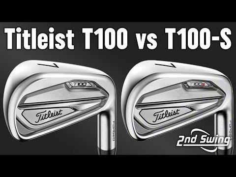 Titleist T100 vs. T100S Irons | Power Spec Fitting | Trackman Test