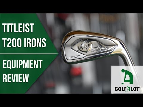 2019's BEST LOOKING iron? | Titleist T200 Iron Golfalot Review