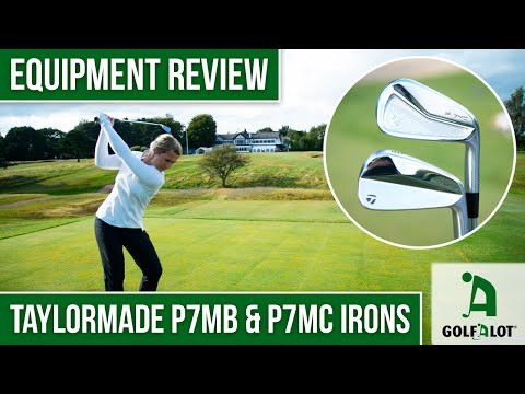 TAYLORMADE P7MB & MC BLADES ON-COURSE HEAD TO HEAD! | TaylorMade P7MC & P7MB Golfalot Iron Review