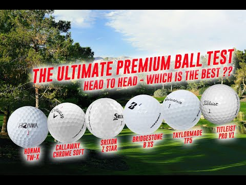 Skytrak – The Ultimate Ball Test – Honma TW-X, Titleist Pro V1, Callaway Chrome Soft, Taylormade TP5