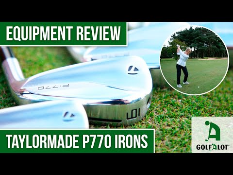 NEW STUNNING looking P770 irons from TaylorMade | Golfalot TaylorMade P770 (2020) Irons Review