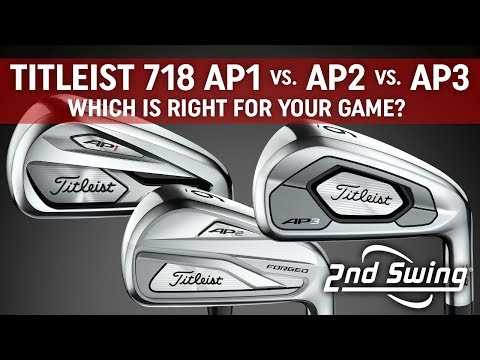 Titleist 718 AP1 vs. AP2 vs. AP3 Comparison