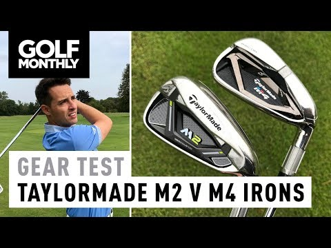 TaylorMade 2017 M2 vs 2018 M4 | Irons Test | Golf Monthly