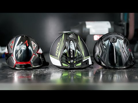Titleist TSi vs. Cobra RADSPEED vs. Srixon ZX7 // 2021 Drivers Go Head to Head