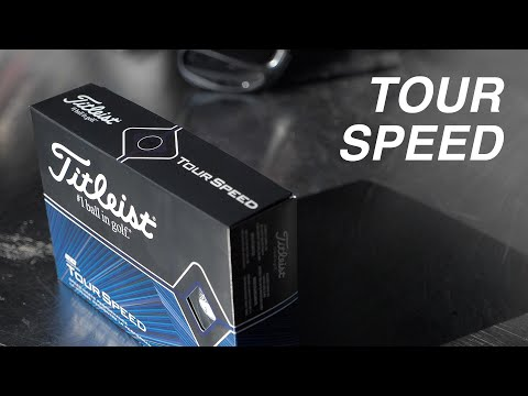 NEW Titleist TOUR SPEED // Golf Ball Review