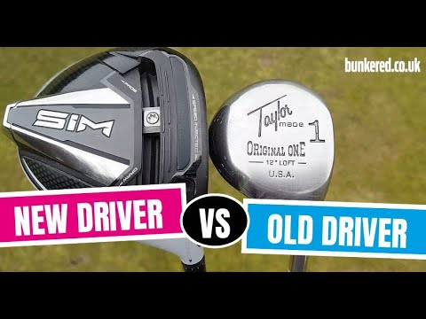OLD DRIVER VS NEW DRIVER – TaylorMade SIM vs TaylorMade Original One