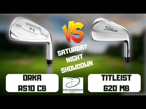 ORKA RS10 CB vs TITLEIST 620MB IRON REVIEW SHOWDOWN