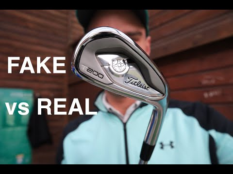 FAKE Titleist T200 Irons from Aliexpress – Putting these counterfeit golf clubs to the test!