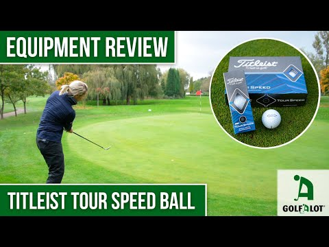 Is this ball actually FASTER!? | Titleist Tour Speed Golf Ball Golfalot Review