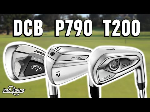 Golf Irons Comparison | TaylorMade P790, Callaway Apex DCB, Titleist T200