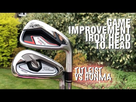 Game improvement irons head to head: Titleist T300 vs Honma GS in the Irons World Cup!