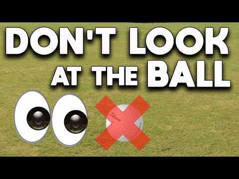 The secret to strike the golf ball DRIVER & IRONS