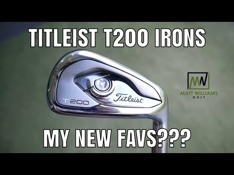 Titleist T200 Irons | My Favorite Irons Yet? | Full Review