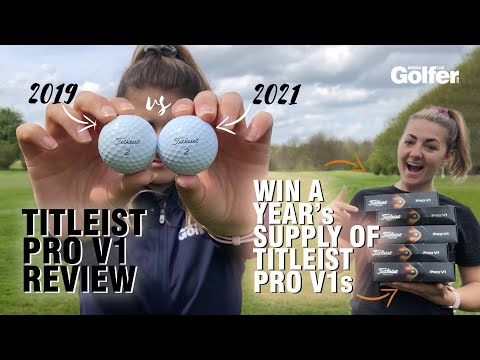 Titleist Pro V1 review: How do the 2021 Pro V1 and Pro V1x perform? + WIN A YEAR'S SUPPLY!