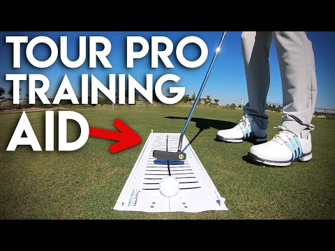 THE training aid used by tour pros