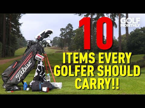 10 ITEMS EVERY GOLFER SHOULD CARRY!!