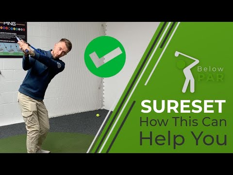 SURE SET GOLF – The training aid you need!