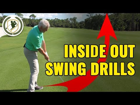 🔥Golf Swing Inside Out Drills (COPY THESE!)