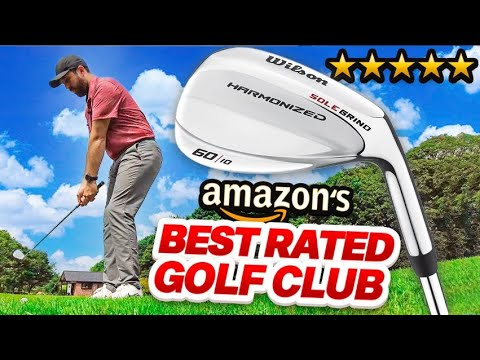 I bought the BEST rated golf club on amazon!