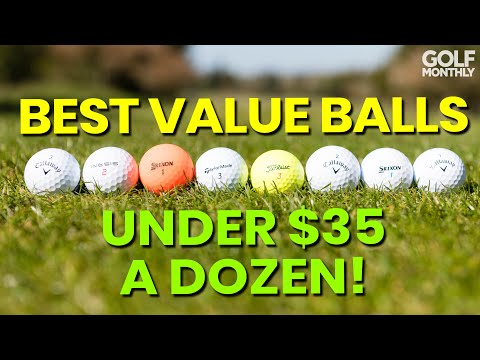BEST VALUE GOLF BALLS UNDER $35 A DOZEN!