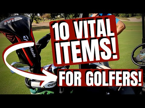 10 VITAL THINGS YOU NEED IN YOUR GOLF BAG!