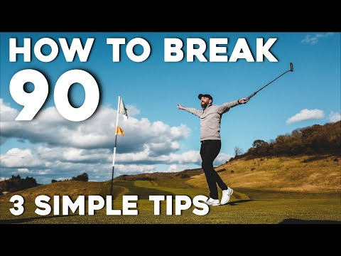 I promise you'll BREAK 90 using these simple golf tips!