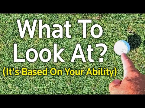 CONSISTENT GOLF SWING – What To Look At?