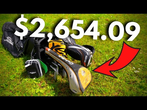 These Golf Clubs SHOULD Have Cost $2,654.09…
