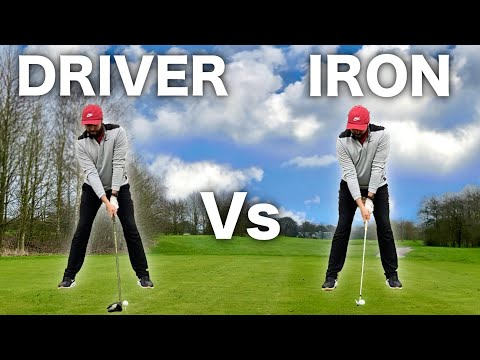 THE DIFFERENCE – DRIVER SWING Vs IRON SWING