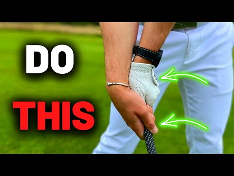 Train your WRISTS CORRECTLY in the golf swing!