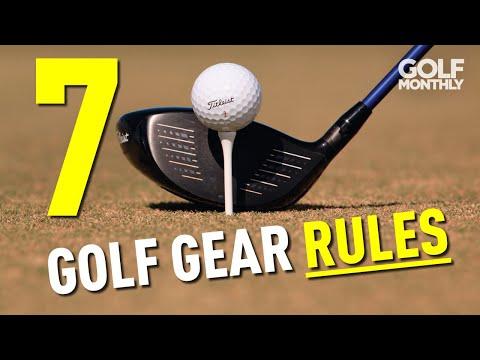 7 GOLF GEAR RULES!!