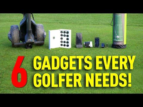 6 GADGETS EVERY GOLFER NEEDS!!