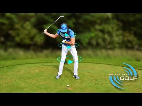 SWING THE GOLF CLUB MORE AROUND YOUR BODY