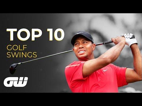Top 10: GREATEST EVER Golf Swings | Golfing World