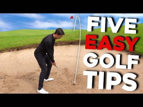 Simple golf tips from AMAZING golfer – MUST TRY!