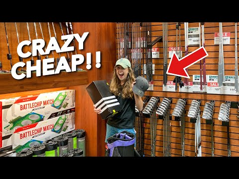 WHERE TO BUY BRAND NEW EXPENSIVE GOLF GEAR FOR CHEAP