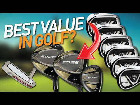 ARE THESE THE BEST CHEAP GOLF CLUBS OF 2021? // Costco Callaway Edge Set Review