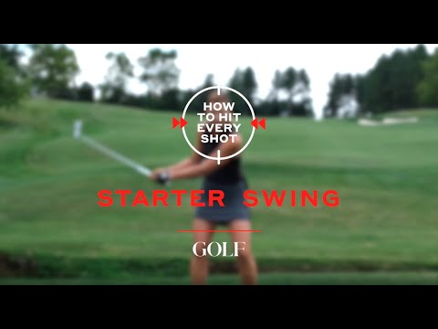 How to swing a golf club: 5 steps to building a solid golf swing