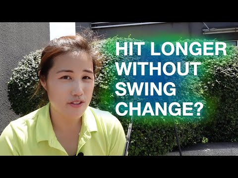 Longer Distance without Swing Change – Golf with Michele Low