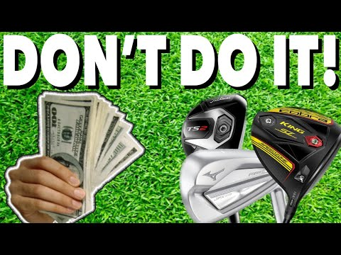 DON'T buy new GOLF CLUBS until you watch this! Simple Golf Tips