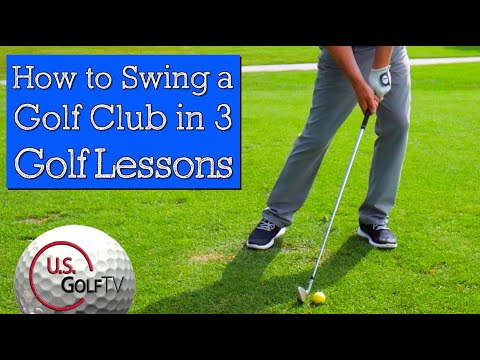 3 Golf Swing Tips that Cover 90 Percent of Golf Lessons