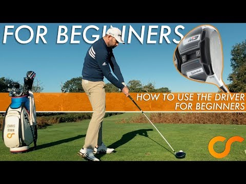 HOW TO HIT THE DRIVER FOR BEGINNERS
