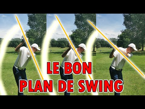 Le Swing de Golf Décomposé: Comment Placer Le Club AU SOMMET DU SWING (cours de golf)