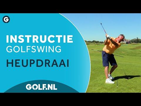 Golf instructie: Heupdraai met Phil Allen