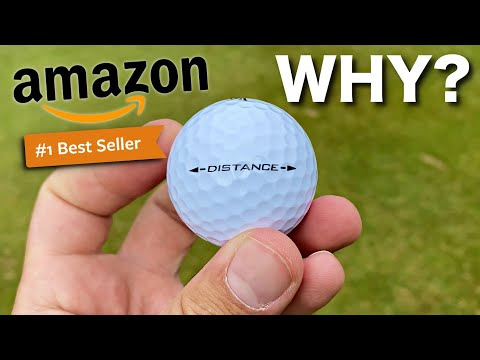 Massive DISTANCE? | The BEST selling golf ball on Amazon