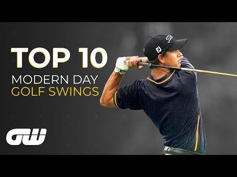 Top 10: MODERN Golf Swings | Golfing World